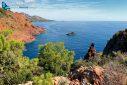La Rade d'Agay Esterel vue du Cap Dramont