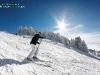 Skieur piste Chamrousse