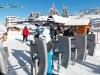Skieurs remontées mécaniques