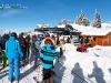 Skieurs remontees mecaniques