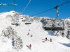 ski en  station de sport d'hiver