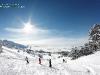 Paysage ski et neige