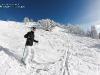 skieuse débutante