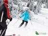 Skieurs sur les pistes
