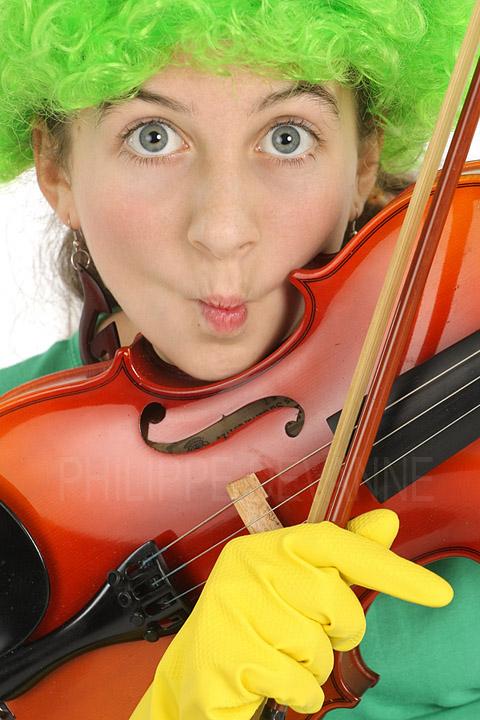 Portrait expression adolescente humour