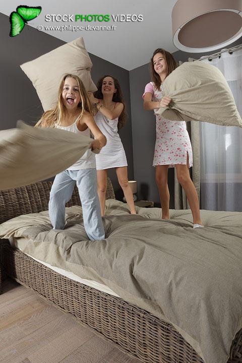 Bataille d'oreiller