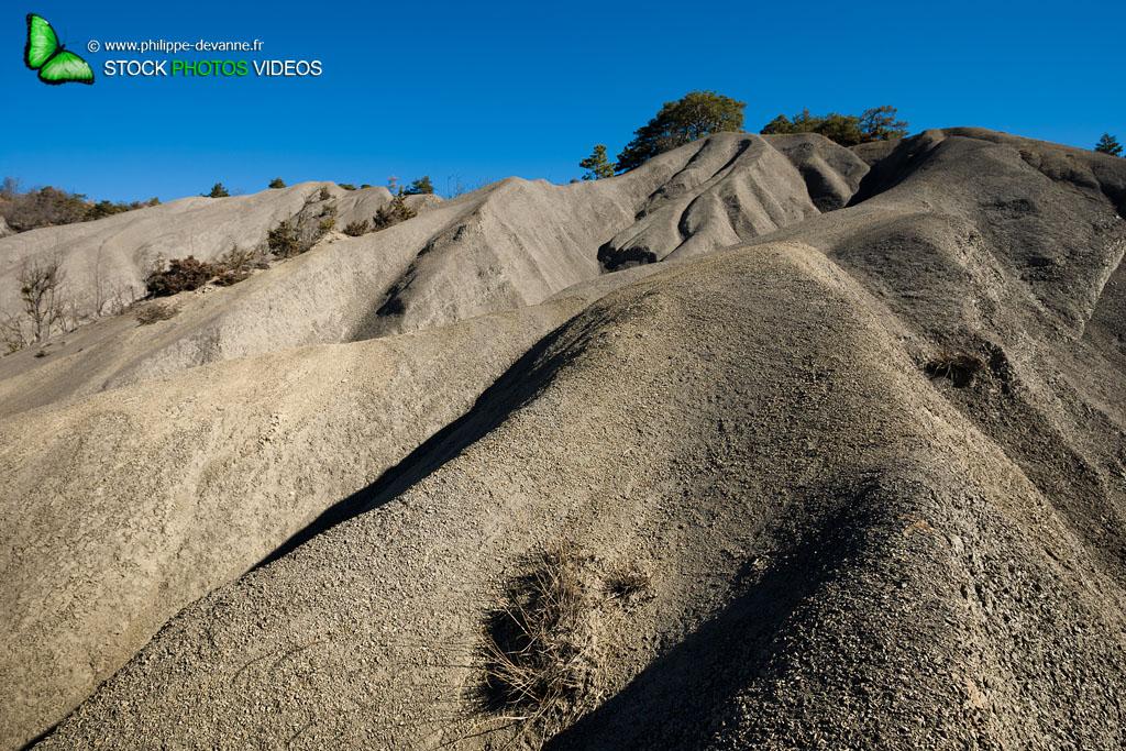 Terres noires géologique du Trièves