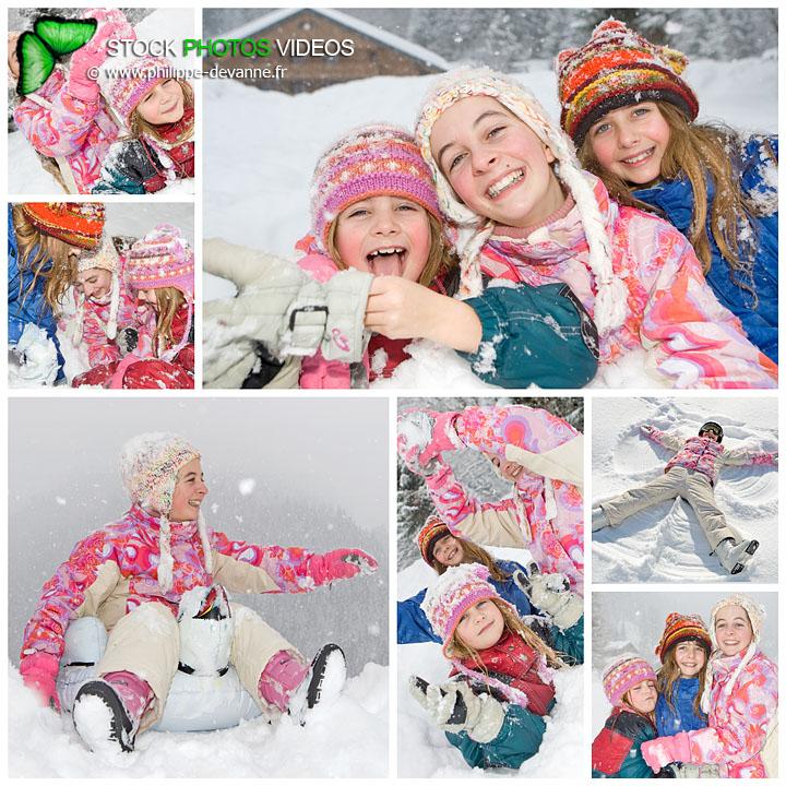 vacances d'hiver enfants