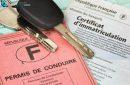 permis, clés et certificat d'immatriculation