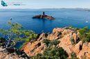L'île d'Or, vue du Cap Dramont Saint-Raphaêl