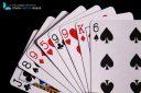 Carte a jouer sur fond noir