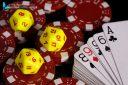 Jeux de poker , dés et jetons