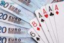 Poker jeu de carte et argent