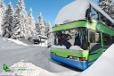 Autobus sport d'hiver