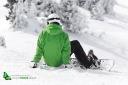 Snowboard sur les pistes